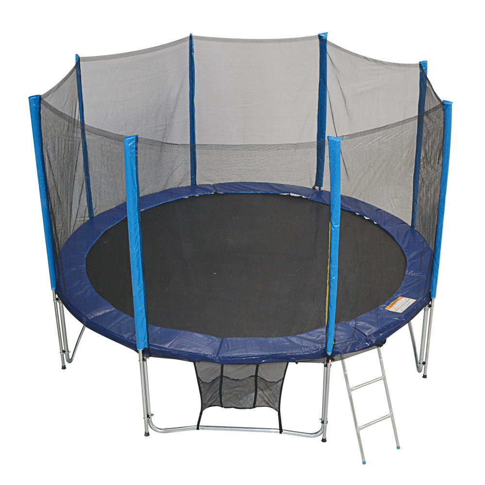 New Heavy Duty Trampoline 14 Ft With Ladder Safety Net: Zupapa 12ft TUV Tramoline Safety Pad Net Enclosure Ladder