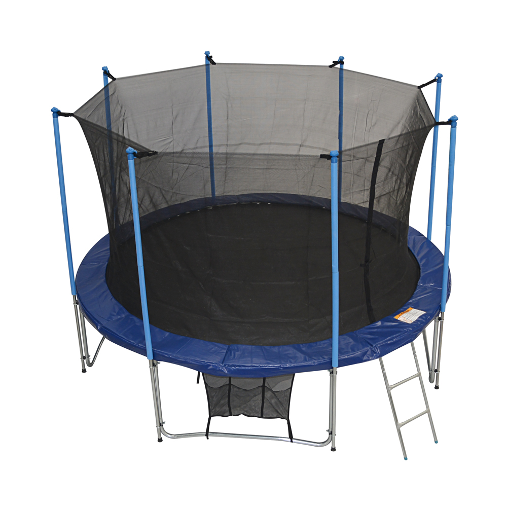 Zupapa Round 12ft Trampoline Frame Safety Enclosure Spring