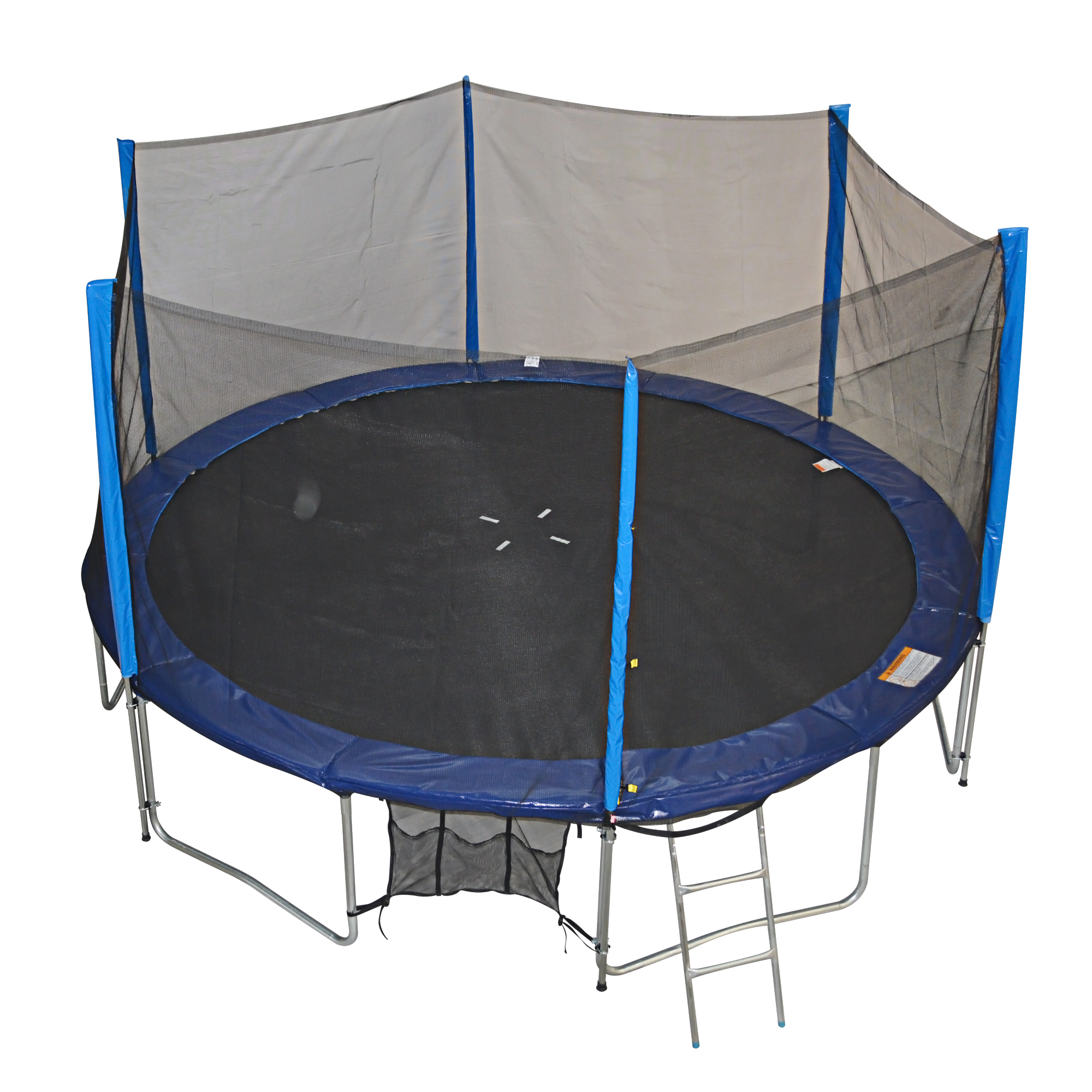 New Heavy Duty Trampoline 14 Ft With Ladder Safety Net: ZUPAPA TUV APPROVED 14FT HEAVY DUTY TRAMPOLINE SAFETY PAD
