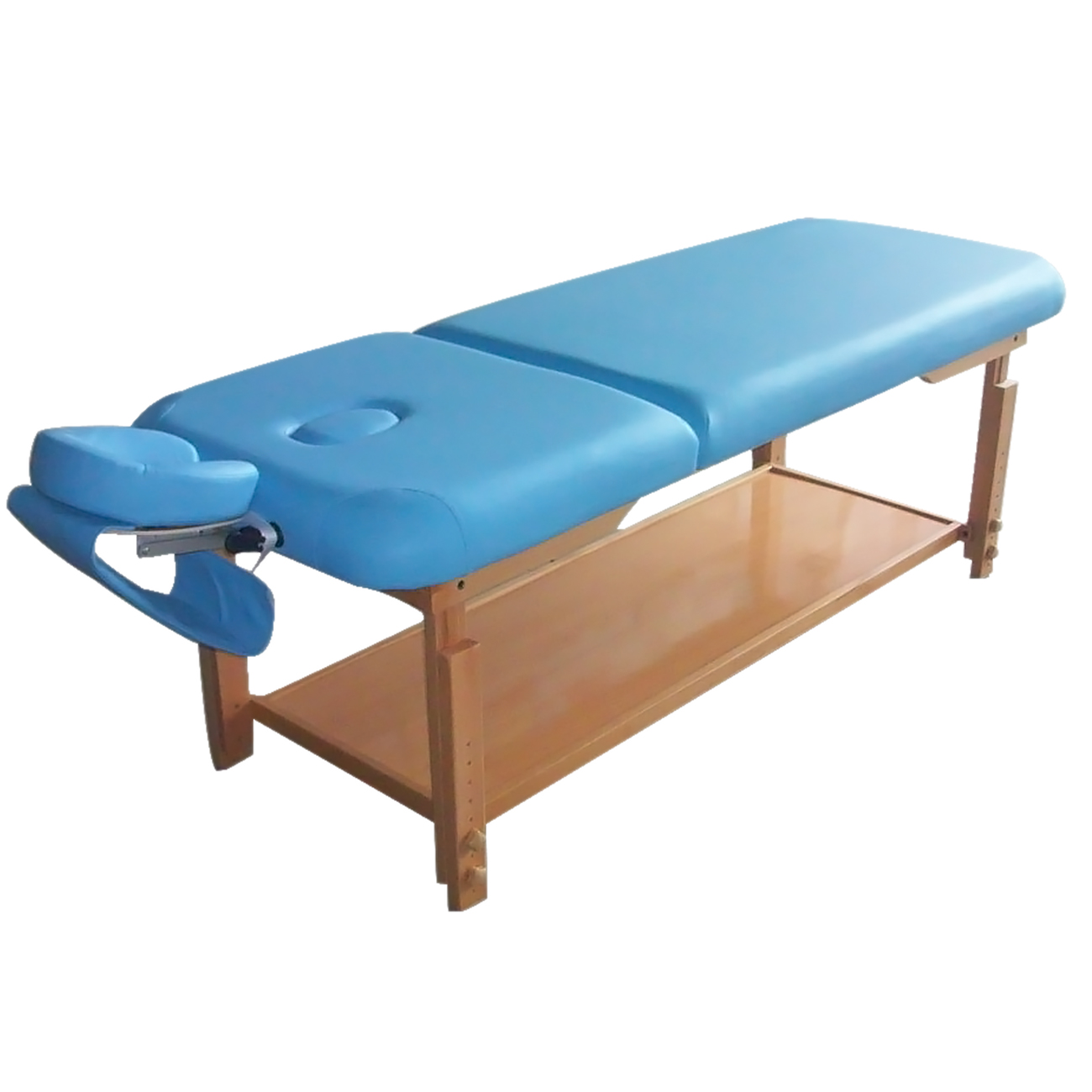 Healthline pro stationary massage table beauty couch bed 2 for Mobile beauty therapist table