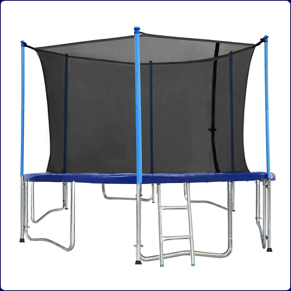 Zupapa Round 14ft Trampoline Frame Safety Enclosure Spring: ZUPAPA ROUND 15FT TRAMPOLINE FRAME SAFETY ENCLOSURE SPRING