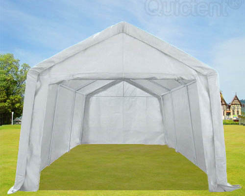 quictent heavy duty pe water resistant party wedding tent carport canopy - Carport Canopy