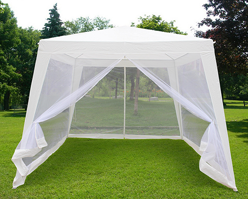 Quictent 174 10x7 9 Trapezoid Canopy Party Tent Gazebo Screen