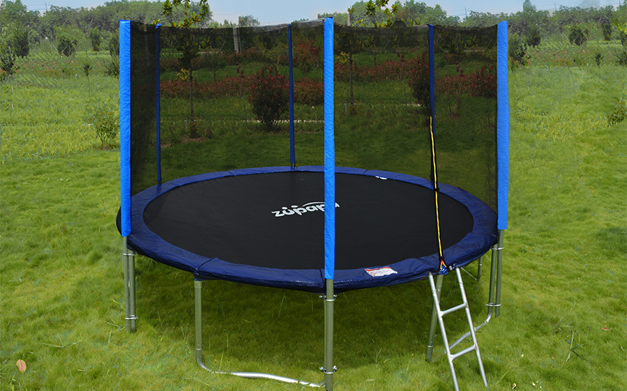 Zupapa 14ft Bounce Round Heavy Duty Trampoline Safety