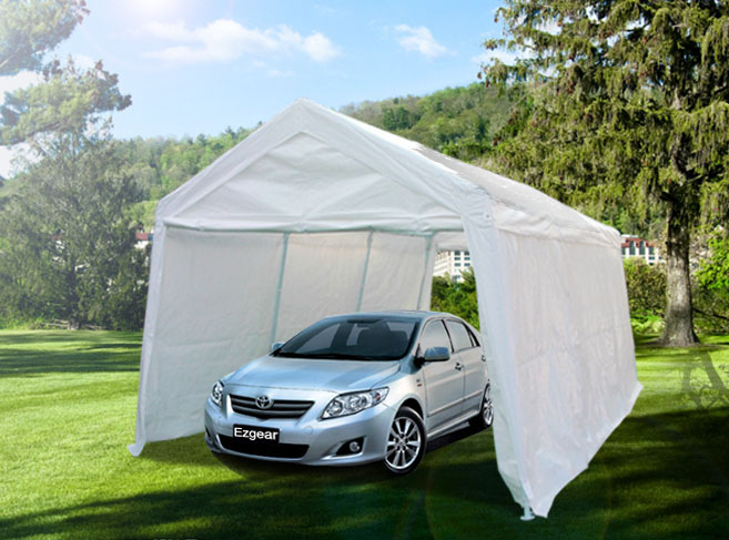 Portable Carports Car Canopies : Quictent heavy duty portable garage carport car