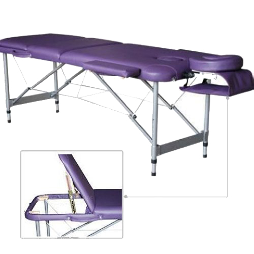 Healthine lightweight portable folding massage table for Mobile beauty therapist table