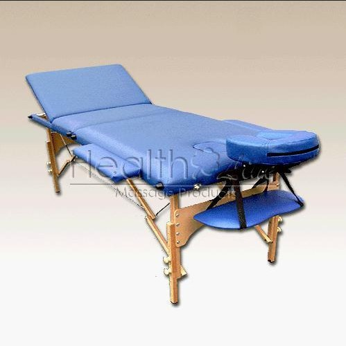 Healthline pro portable massage table beauty couch bed 3 for Mobile beauty therapist table