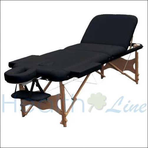 Healthline pro portable massage therapy table bed couch for Mobile beauty therapist table