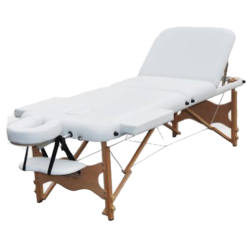 Healthline portable beauty massage table 6cm pad pu couch for Mobile beauty therapist table