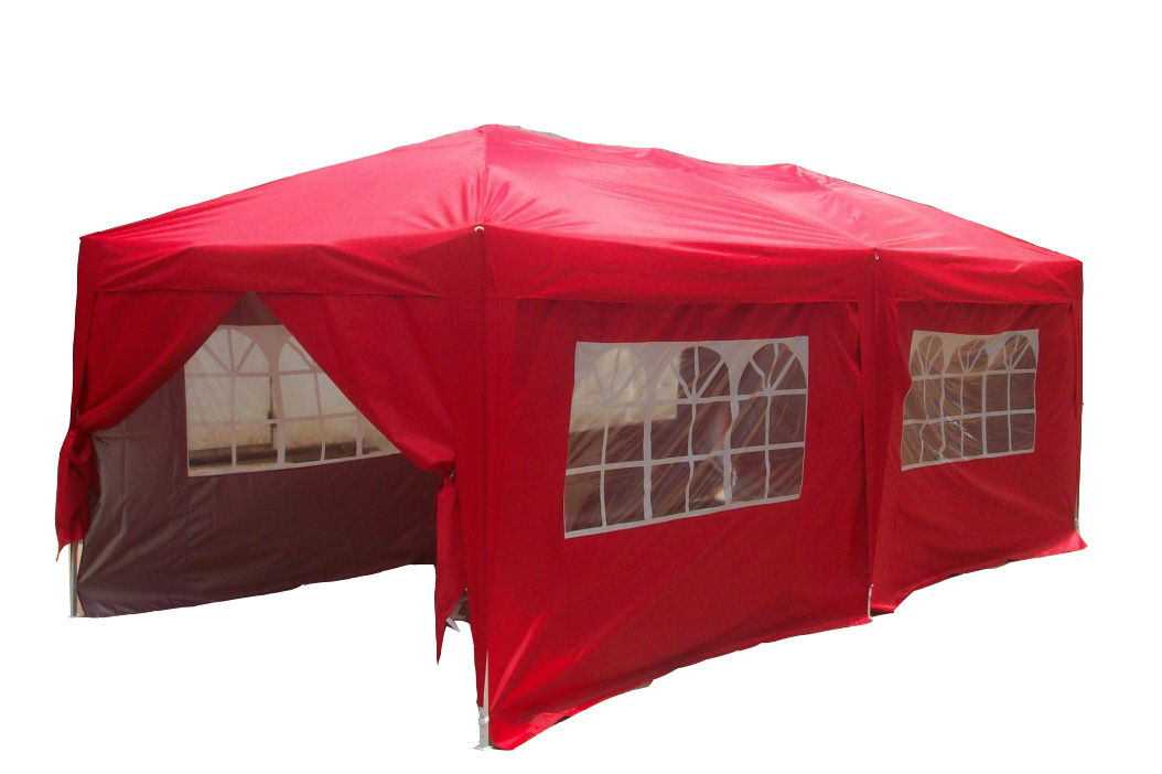 Quictent 10x20' EZ Pop Up Canopy Gazebo Party Wedding Tent Red With Free Carry Bag at Sears.com