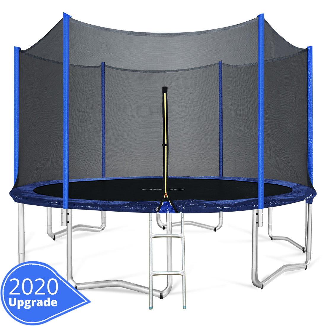 ORCC 2020 Upgrade 15FT Trampoline With Enclosure Net Pad