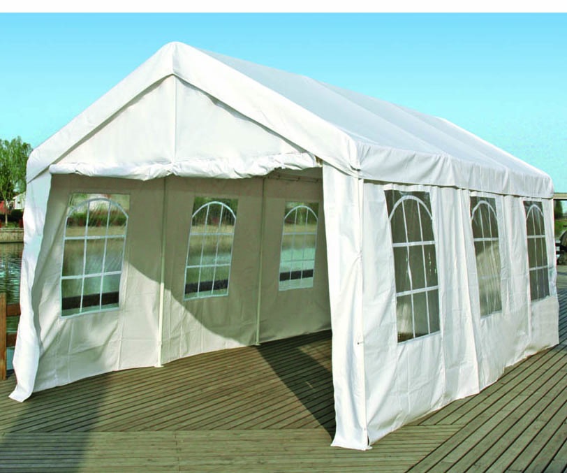 10 X 20 Heavy Duty Outdoor Carport Gazebo Party Tent Garage Shelter With Walls