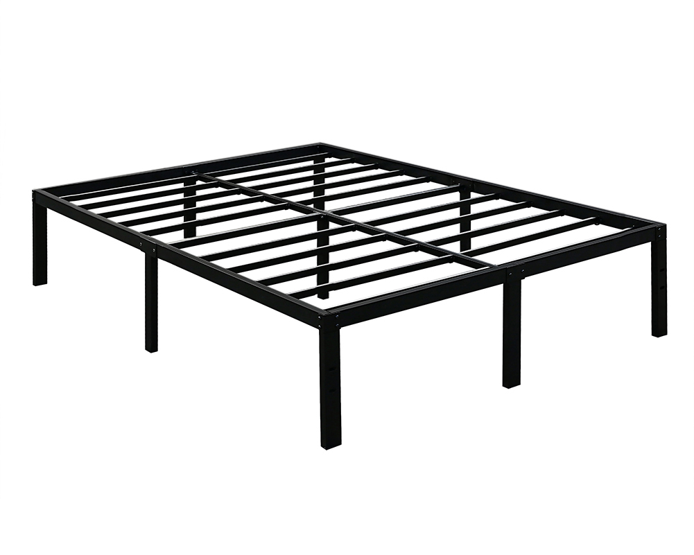 3000lbs max weight tatago 16inch heavy duty platform bed frame foundation queen 6936474023655 ebay. Black Bedroom Furniture Sets. Home Design Ideas