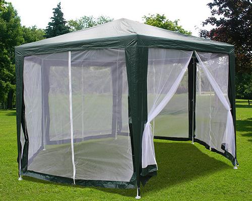 Quictent 174 6 6x 6 6 X 6 6 Hexagon Party Tent Canopy Screen