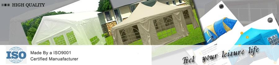 PeaktopR 10 X 30 Heavy Duty Outdoor Gazebo Wedding Party Tent Canopy Pavilion