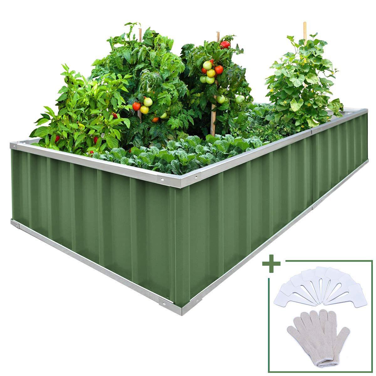 68 X35 5 Raised Garden Bed Planter Kit Box 8pcs T Type