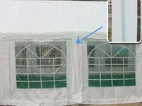 Peaktop 26x13 Heavy Duty Party Wedding Tent Carport Garage Canopy
