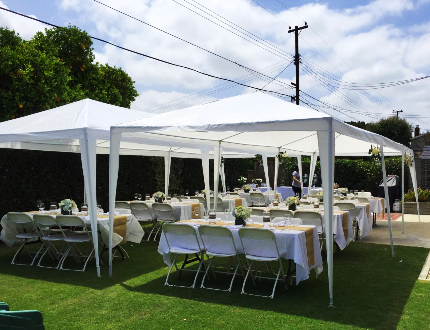 Peaktop® 10 X 30 Heavy Duty Outdoor Gazebo Wedding Party