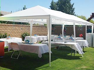 PeaktopR 10 X 30 Heavy Duty Outdoor Gazebo Wedding Party Tent